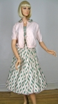 Girlie Poo Vintage 50s Pink Sundress & Cardigan Set