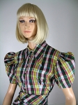 Adorable Vintage 40s Skirt and Top in Fab Plaid