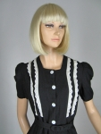 Sweet Vintage 40s Black and White Eyelet Dress 04.jpg