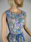 Gorgeous Floral 60s Garden Party Summer Dress 02.jpg