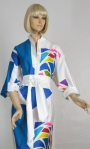 Graphic Bold Vintage 70s Catherine Ogust Dress