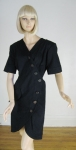 Yves St. Laurent Rive Gauche Avant Garde Vintage 90s  Dress
