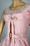 Shelf Bust Vintage 50s Full Skirt Pink Party Dress 03.jpg
