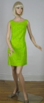Op Art Vintage 60s Go-Go Lemon Lime Dress & Coat Ensemble 02.jpg