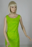 Op Art Vintage 60s Go-Go Lemon Lime Dress & Coat Ensemble 03.jpg