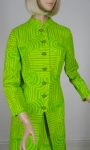 Op Art Vintage 60s Go-Go Lemon Lime Dress & Coat Ensemble 04.jpg