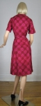 Raspberry Cutie Vintage 60s Detailed Dress 05.jpg