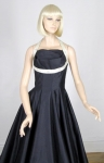 Bombshell  Natlynn Originals Vintage 50s Halter Dress With Shelf Bust