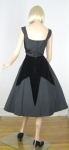 Dramatic Smart Miss Vintage 50s Velvet Diamond Party Dress 05.jpg