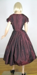 Black Cherry Vintage 50s Tafetta Party Dress 05.jpg
