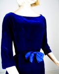 Blue Velvet Vintage 60s Suzy Perette Cocktail Dress 03.jpg