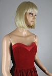 Lush Red Velvet Vintage 80s Strapless Dress 03.jpg