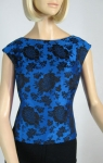 Stunning Vintage 60s Rich Damask Top 2.jpg