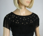 Black Fringed Vintage 50s Embellished Bug Top 2.jpg