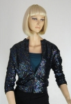 Sparkle-riffic Vintage 60s Sequined Cardigan Sweater