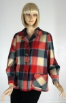 Classic Vintage 40s Plaid 49er Jacket