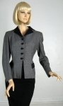 Smart Vintage 50s Houndstooth Check Jacket