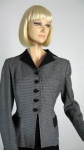 Smart Vintage 50s Houndstooth Check Jacket 2.jpg