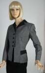 Smart Vintage 50s Houndstooth Check Jacket 3.jpg