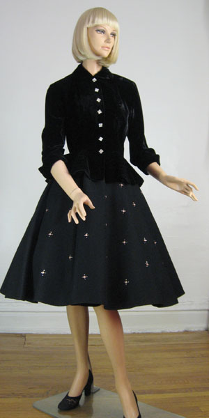 Atomic Sparkle Vintage 50s Circle Skirt