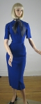 Signature Cobalt Blue Vintage 50s Dress & Jacket  03.jpg