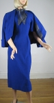 Signature Cobalt Blue Vintage 50s Dress & Jacket  04.jpg