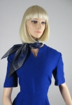 Signature Cobalt Blue Vintage 50s Dress & Jacket  06.jpg