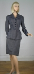 Sharp Vintage Handmacher 40s Wool Suit