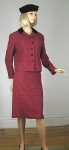 Tweed Raspberry Vintage 60s Velvet Trim Suit 02.jpg