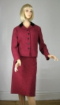 Tweed Raspberry Vintage 60s Velvet Trim Suit 03.jpg