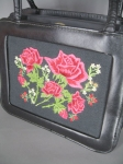 Cute Little Vintage '60s Appliqu� Rose Handbag 02.jpg