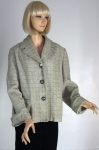 Cool Vintage 50s Flecked Tweed Jacket